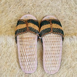 Abaca Slippers from Catanduanes