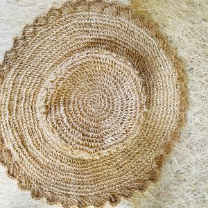 Crochet Abaca Hat from Catanduanes