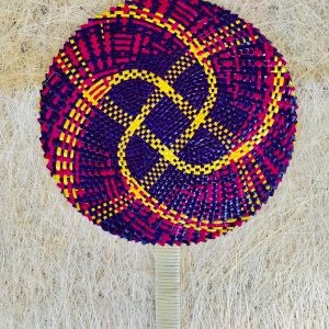 Lollipop Abaca Fan from Catanduanes